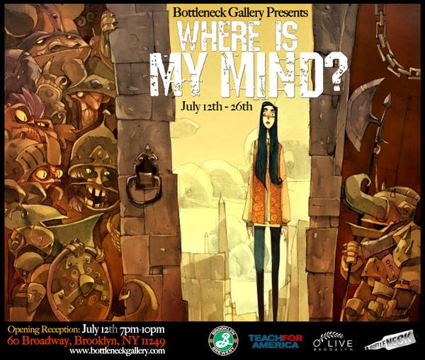 bottleneck gallery where is my mind
