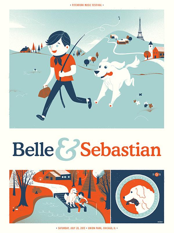 delicious design league Belle & Sebastian - Chicago, IL 2013