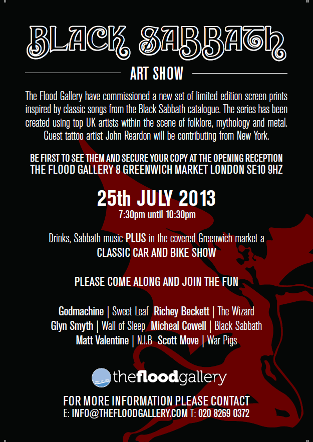 flood gallery black sabbath
