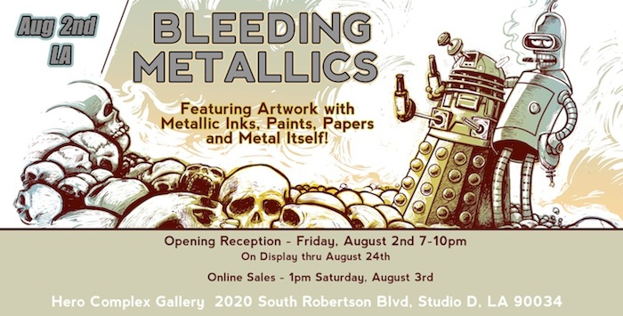hero complex gallery bleeding metallics