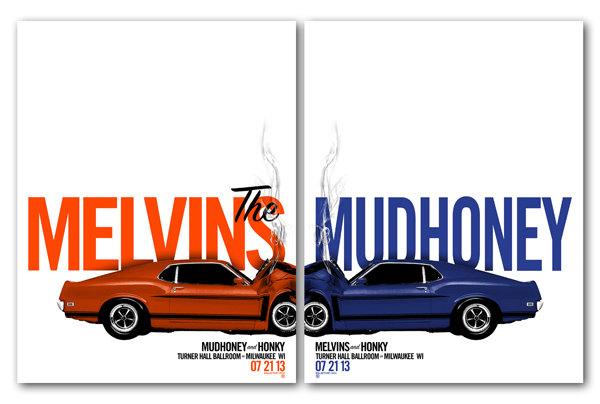 kollective fusion Melvins  Mudhoney - Milwaukee, WI 2013