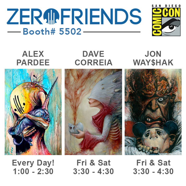 sdcc 2013 zero friends