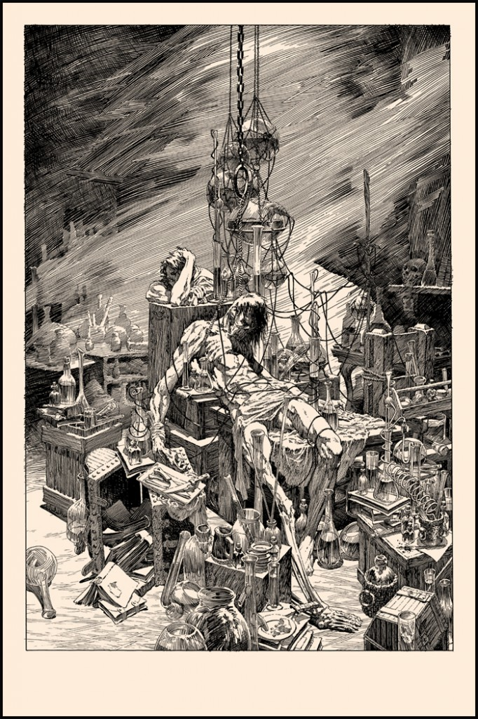 wrightson A Torrent of Light Into Our Dark World
