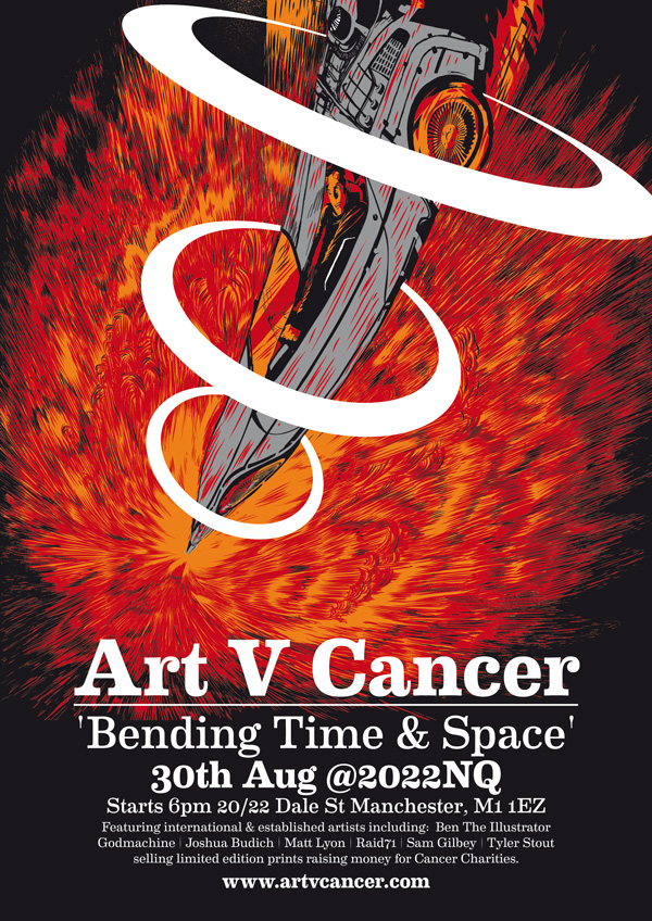 art v cancer bending time and space
