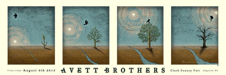 emek Avett Brothers - Ridgefield, WA 2013