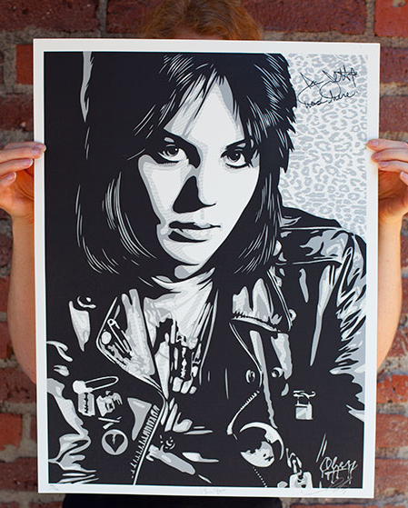 fairey Joan Jett The Runaway