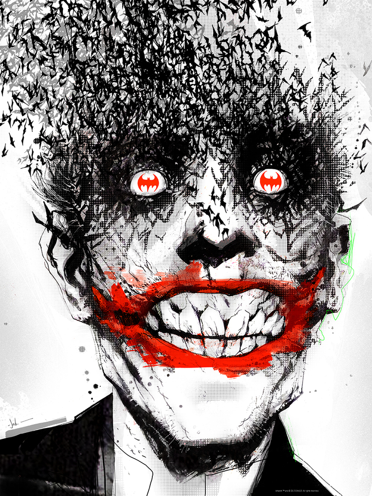 jock Joker The Black Mirror