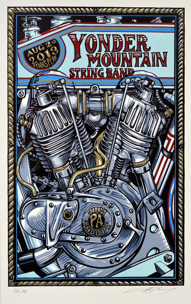 masthay Yonder Mountain String Band jim thorpe pa 2013
