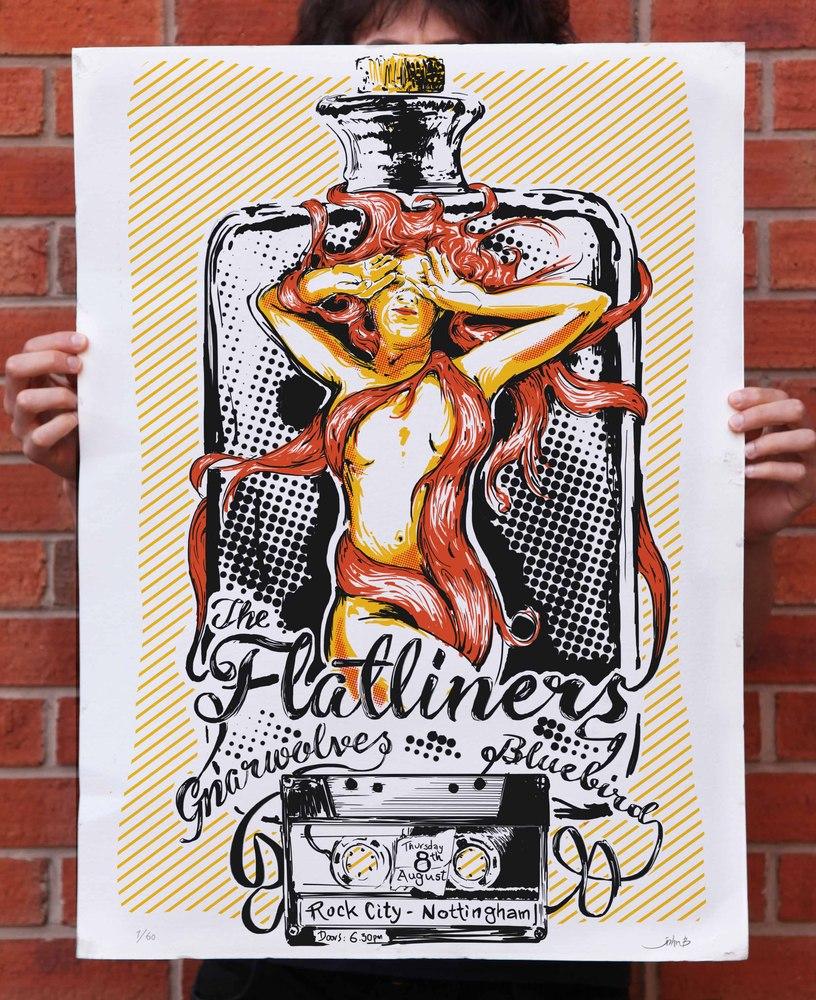 valyrakis The Flatliners - Nottingham, England 2013