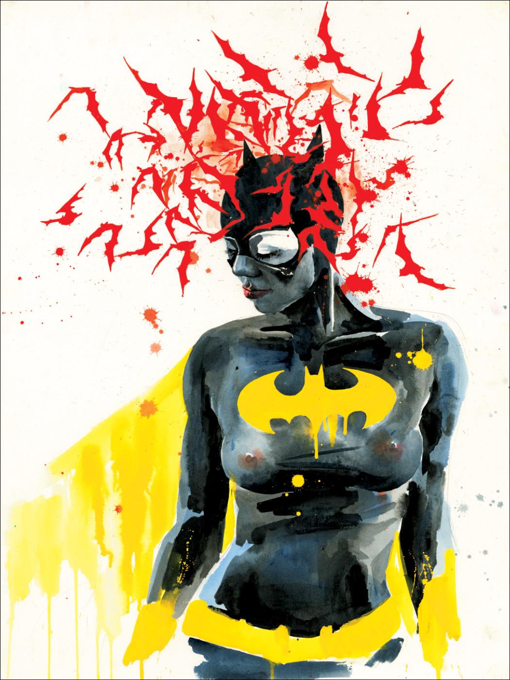 zombie bat girl