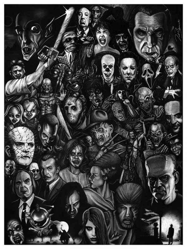 bracewell Hollywood Horror Icons