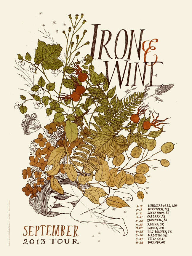 clements Iron & Wine - September 2013 Tour