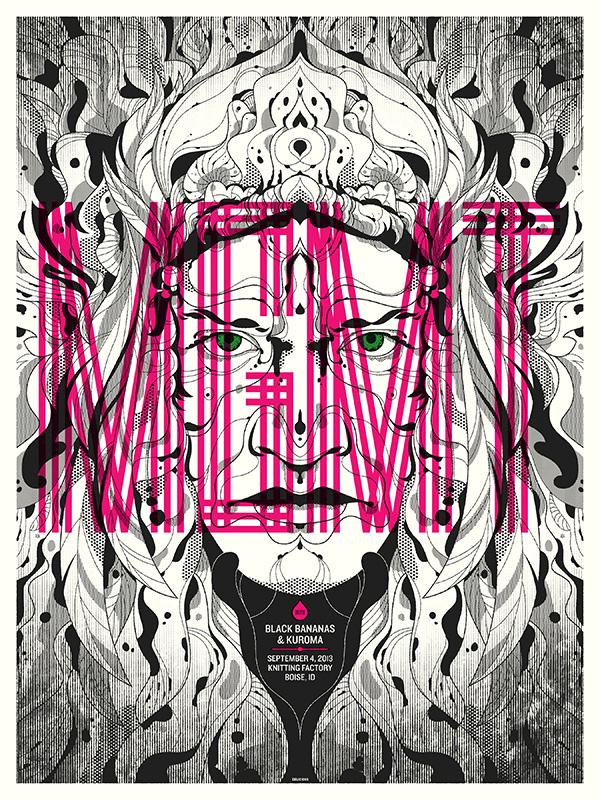 delicious design league MGMT - Boise, ID 2013