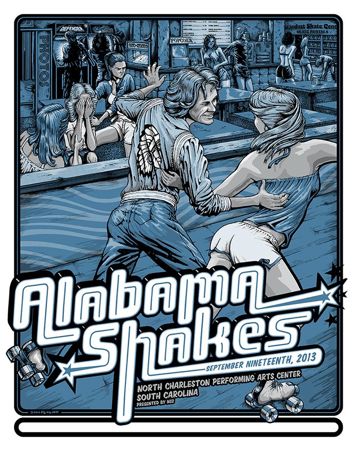dig my chili Alabama Shakes - North Charleston, SC 2013 variant