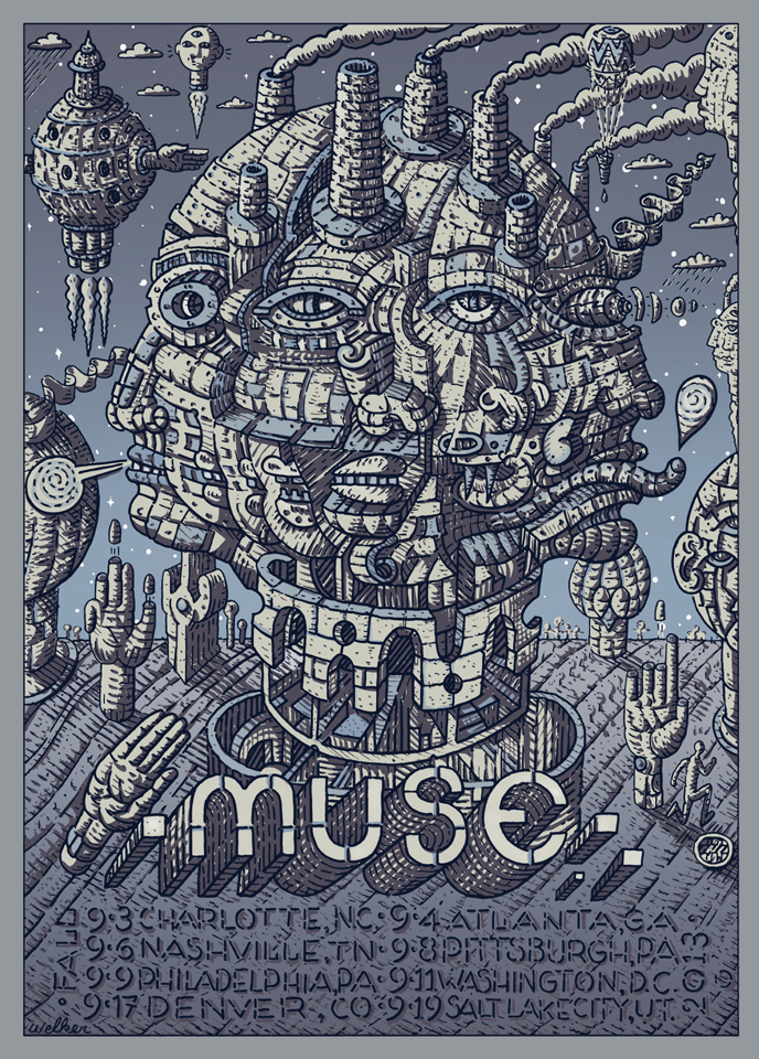 welker Muse 2013 Fall Tour