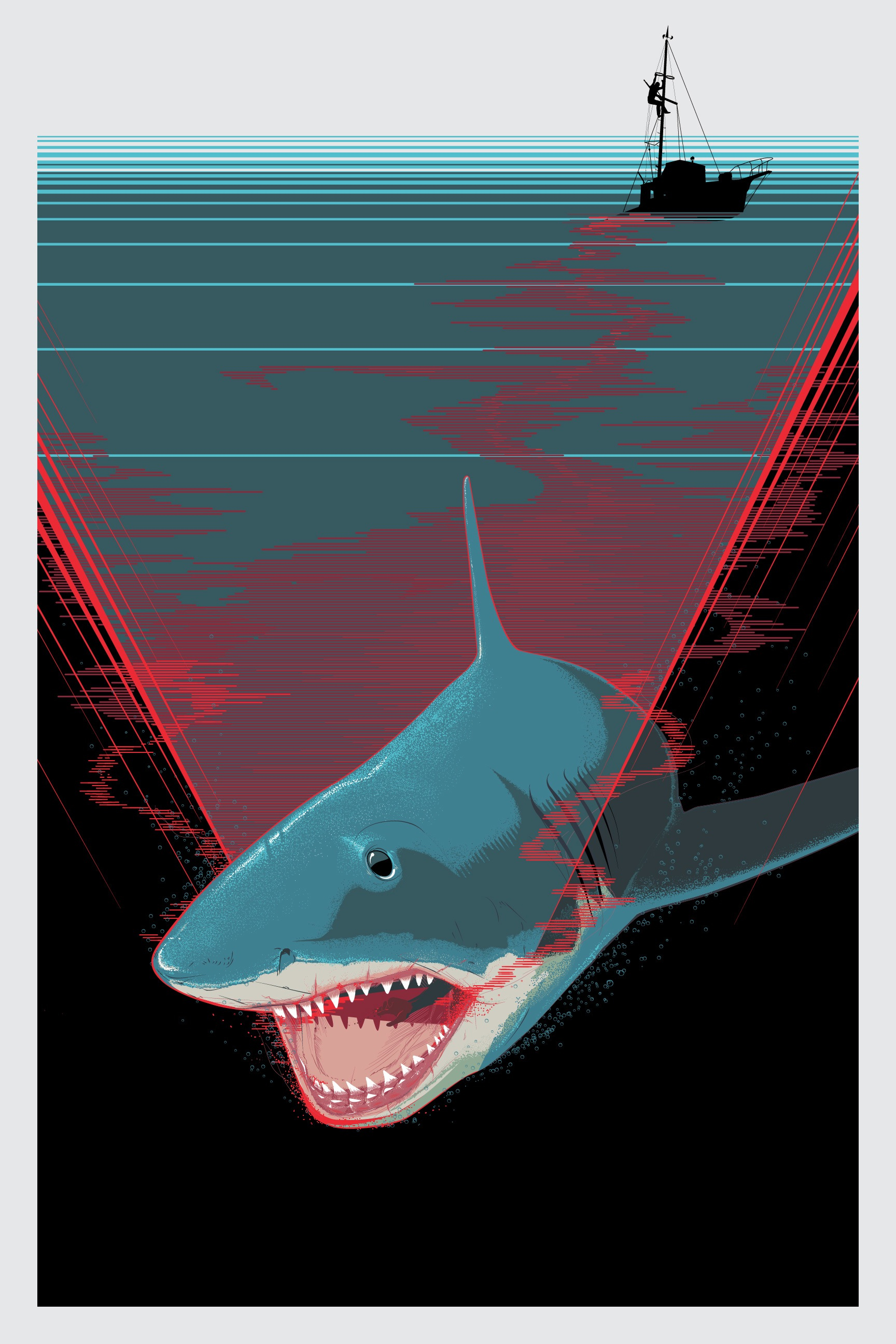 jaws 411posters. Black Bedroom Furniture Sets. Home Design Ideas