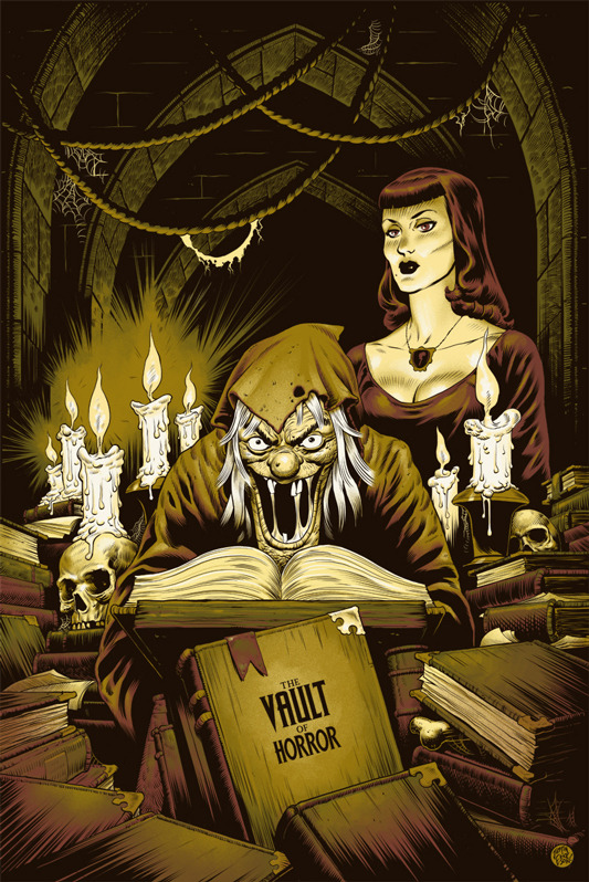 Phantom City Creative the vault of horror