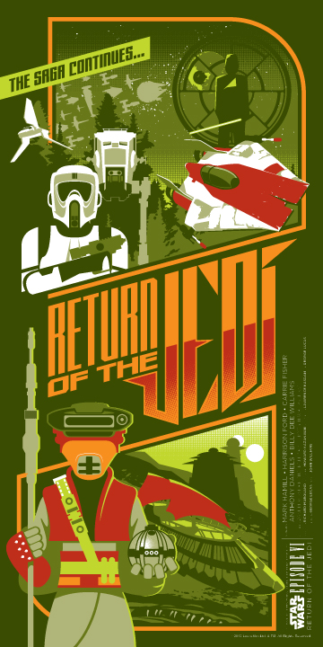 daniels Return of the Jedi Episode VI