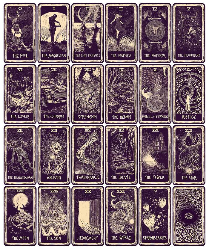 eads Major Arcana Tarot Cards