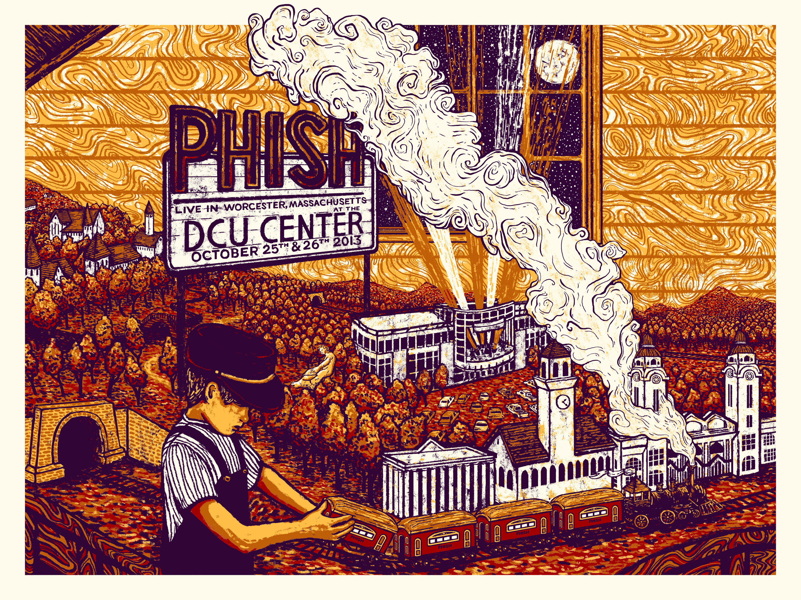 eads Phish - Worcester, MA 2013