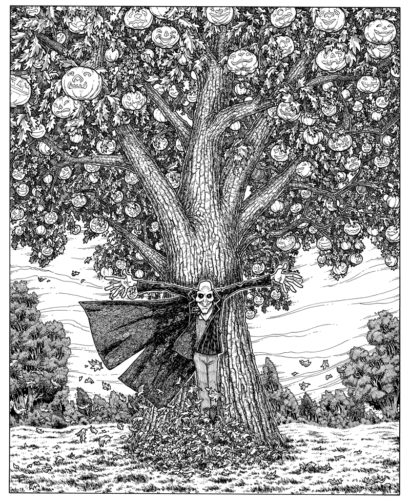 kelleigh The Jack-o'Lantern Tree