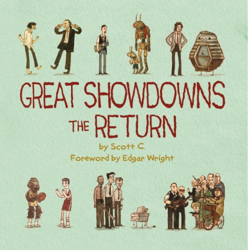 titan books scott campbell great showdowns the return