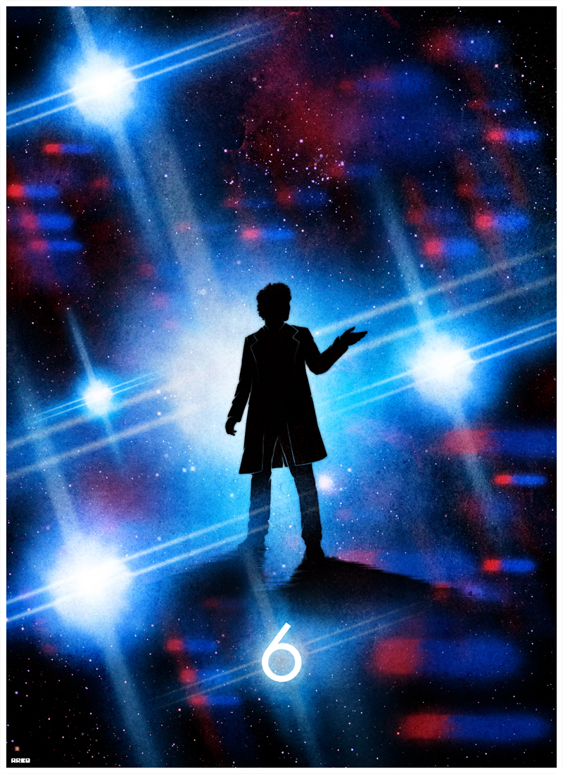 Matt Ferguson's Dr. Who 50th Anniversary Prints | 411posters