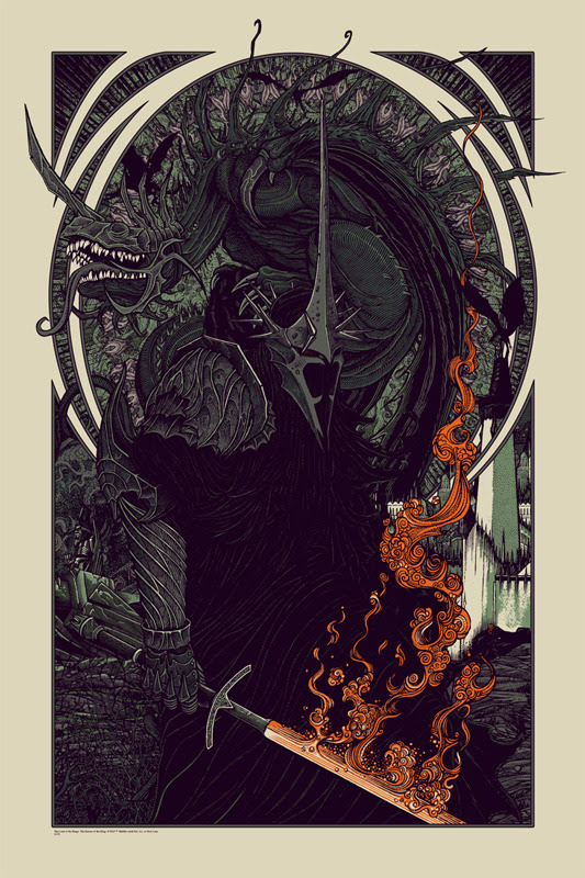 bertmer Witch King and Fell Beast