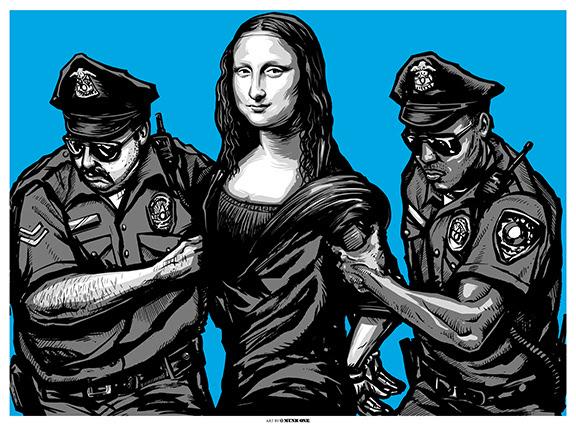 munk one arrested blue