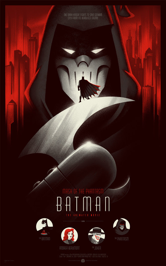 Phantom city creative Batman Mask Of The Phantasm