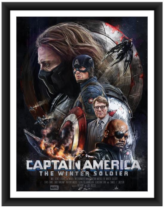 blurppy poster posse captain america 4