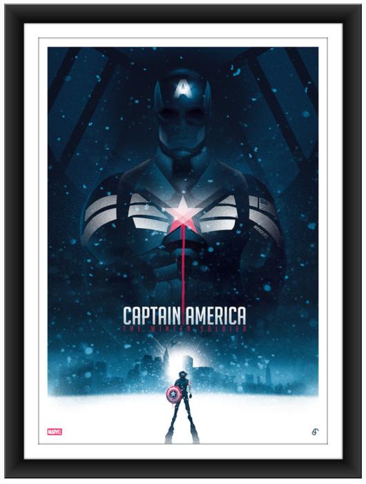 blurppy poster posse captain america