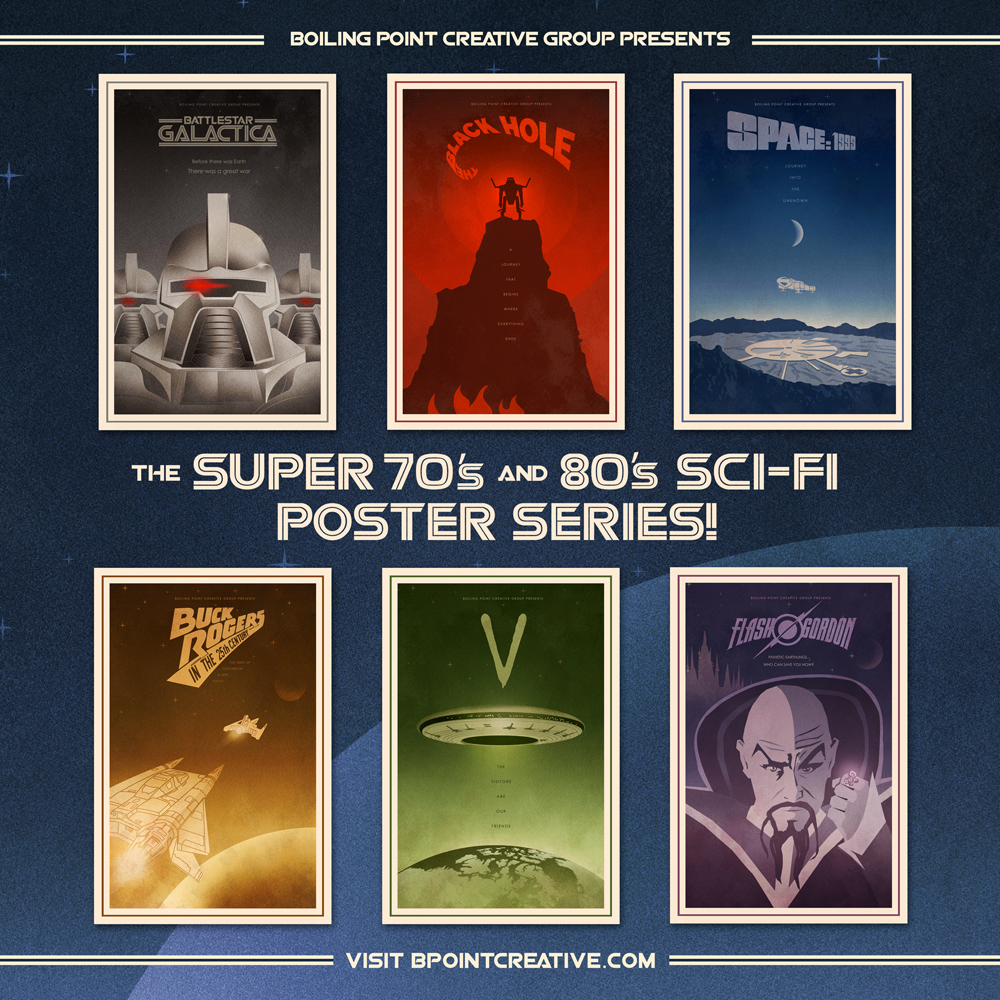 boiling point creative The 70's and 80's Sci Fi