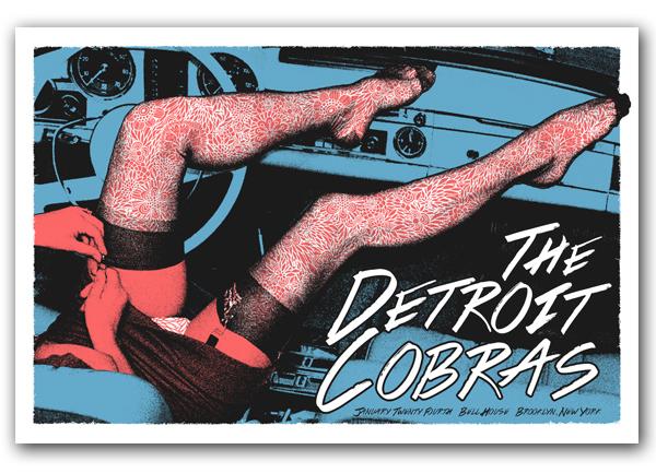lastleaf The Detroit Cobras - Brooklyn, NY 2014