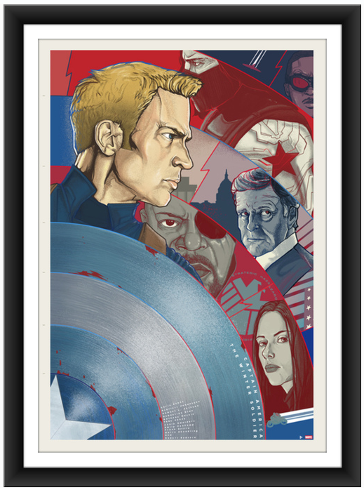 poster posse Captain America The Winter Soldier 3