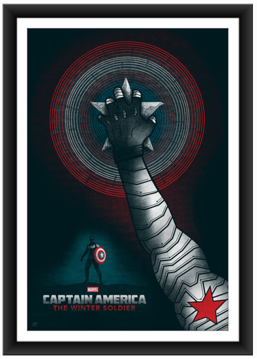 poster posse Captain America The Winter Soldier 5