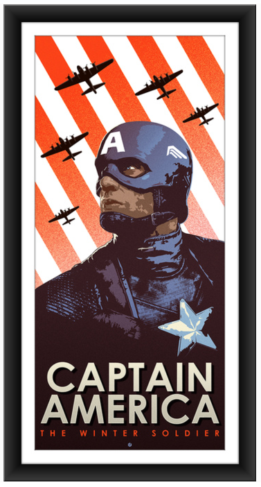 poster posse Captain America The Winter Soldier 6