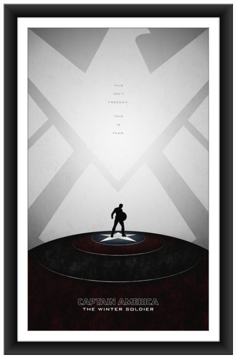 poster posse Captain America The Winter Soldier 7