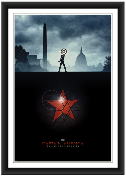 poster posse Captain America The Winter Soldier