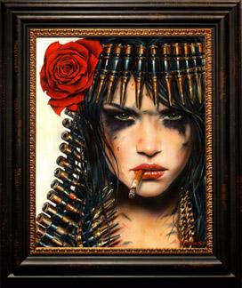 viveros Cleopatra framed