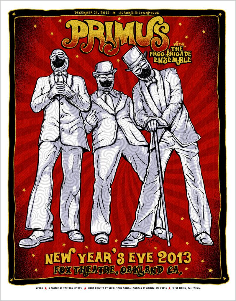 zoltron Primus - Oakland, CA 2013