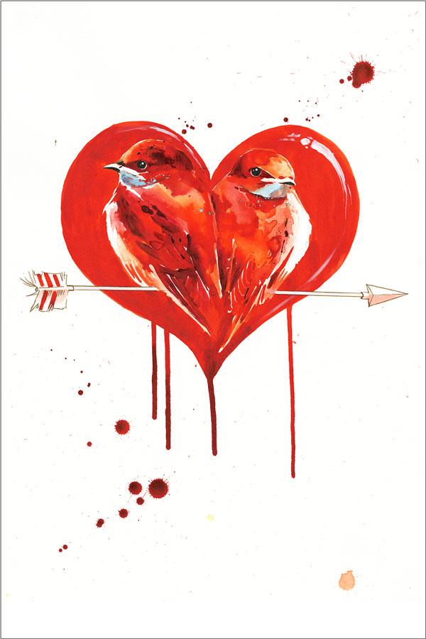 zombie love birds