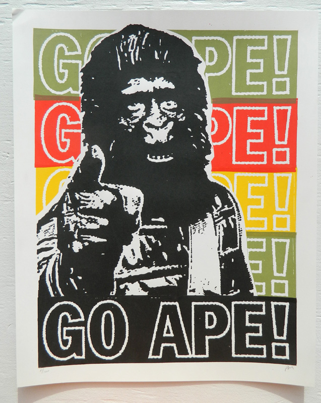 Go Ape! by Print Mafia
