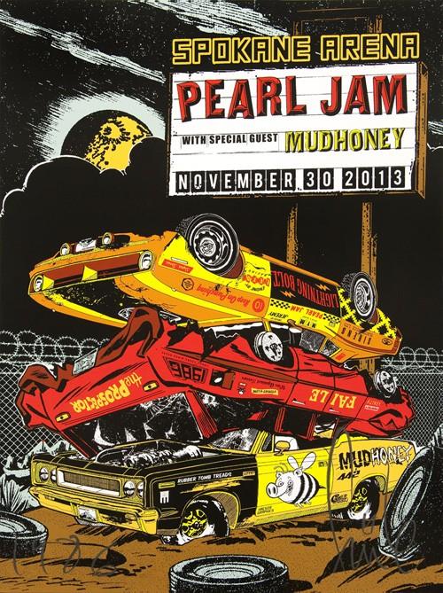 faile pearl jam spokane wa 2013