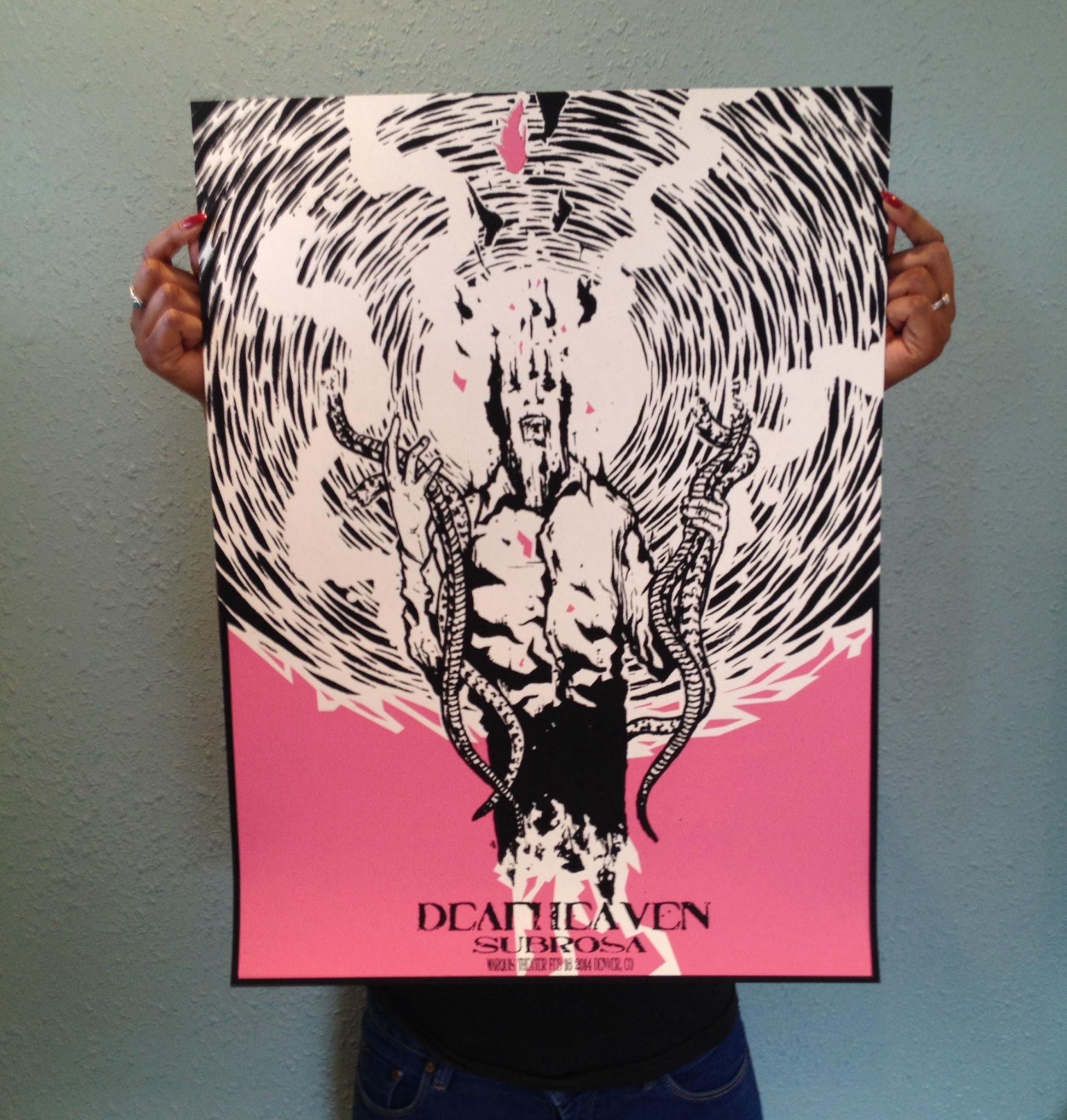 mowry Deafheaven - Denver, CO 2014