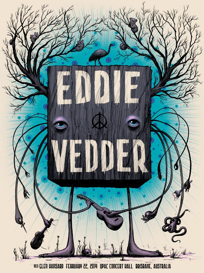 soto Eddie Vedder - Brisbane 2014