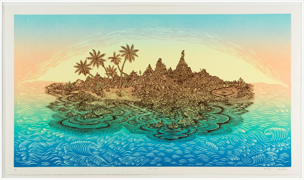 tugboat desert island