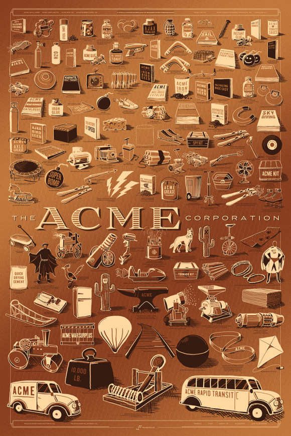 Loukotka the ACME Corporation copper variant
