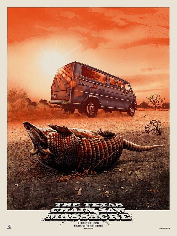 edmiston The Texas Chain Saw Massacre variant