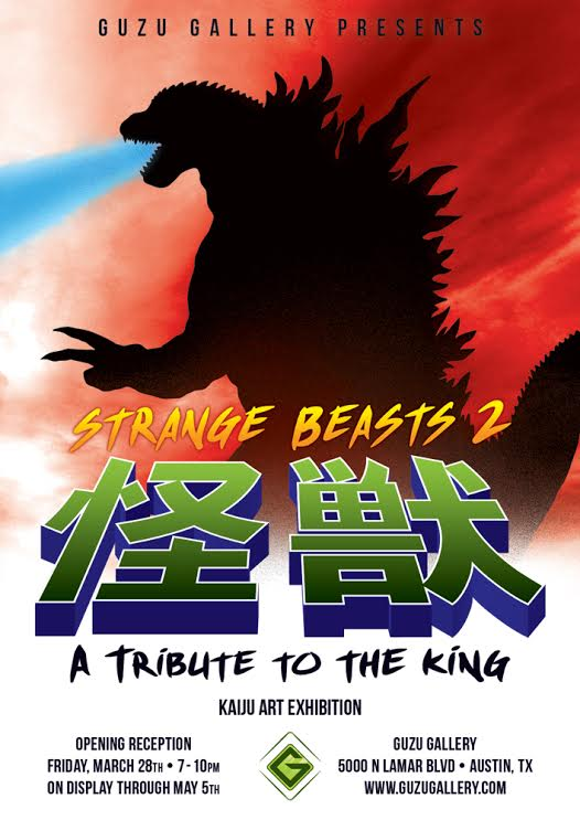 guzu gallery Strange Beasts 2 A Tribute to the King